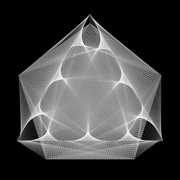 The Meditator Art | Between Art and Science