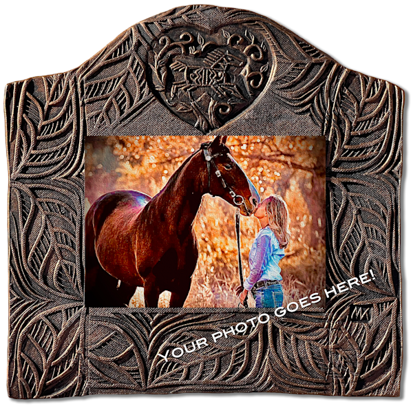 "Horse Tile   Horizontal | 11""X11"" 