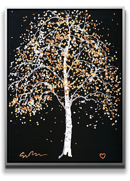 "Simon Bull Available Original Painting - ""Silver Birch"""