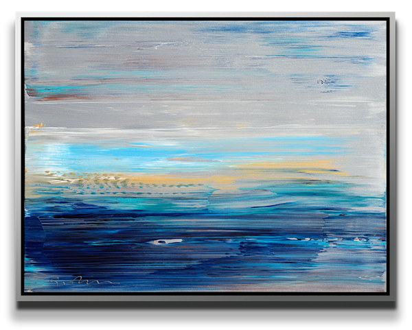 "Simon Bull Available Original Painting - ""Silver Sky"""