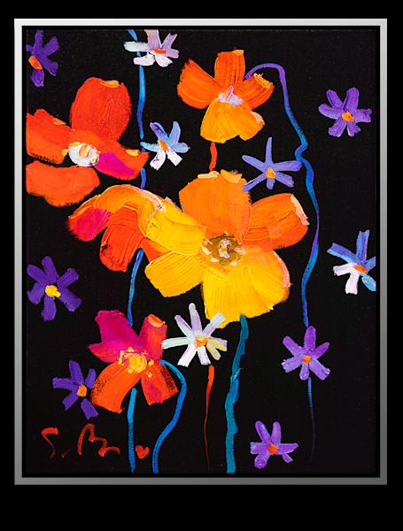 "Simon Bull Available Original Painting - ""Lifted High"""