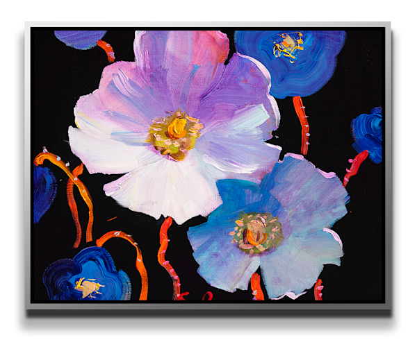 "Simon Bull Available Original Painting - ""Blue Bling"""