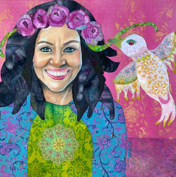 Michelle Obama; When They Go Low, We Go High Art | Karen Payton Art
