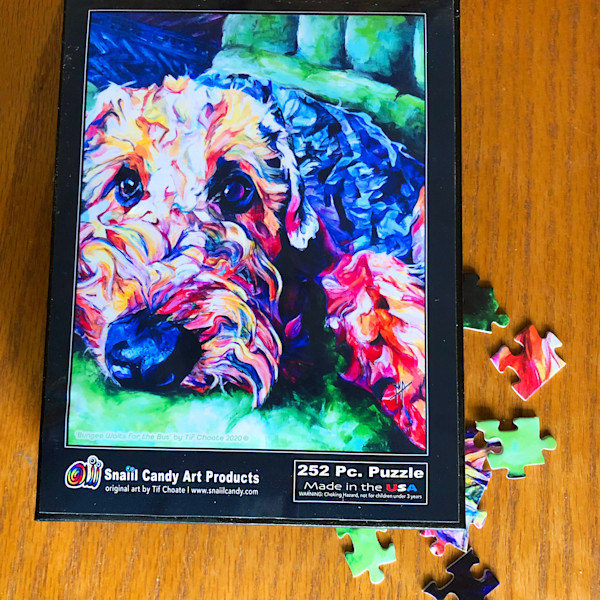 Bungee's, Puzzle | Snail Candy Art Studio