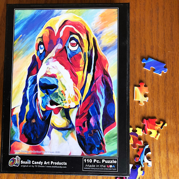 Walter's Puzzle | Snail Candy Art Studio