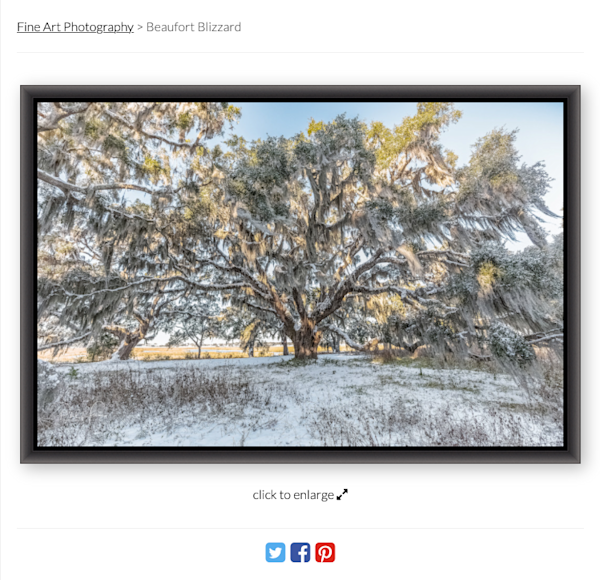 Beaufort Blizzard 30x46 Photography Art | Phil Heim Photography