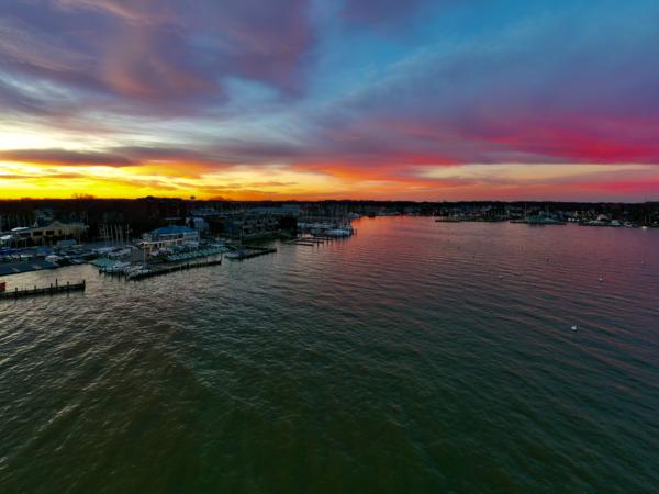 A Brilliant Sunrise Art   Jeff Voigt Owner/Aerial Photographer