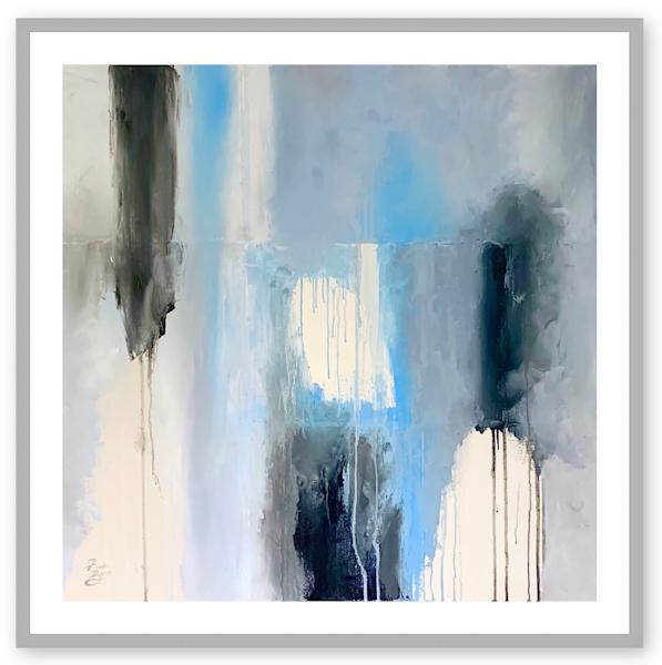 """Ocean"" 20x20 Limited Edition Print Art | Renee Bitinas Fine Art"