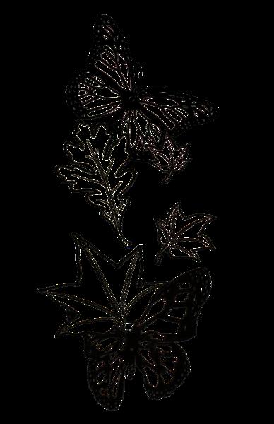 Butterflies  Black And White: Merch Art | Anonymous Art Studios