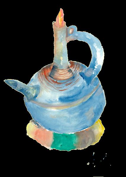Blue Jebena: Merch Art | Anonymous Art Studios