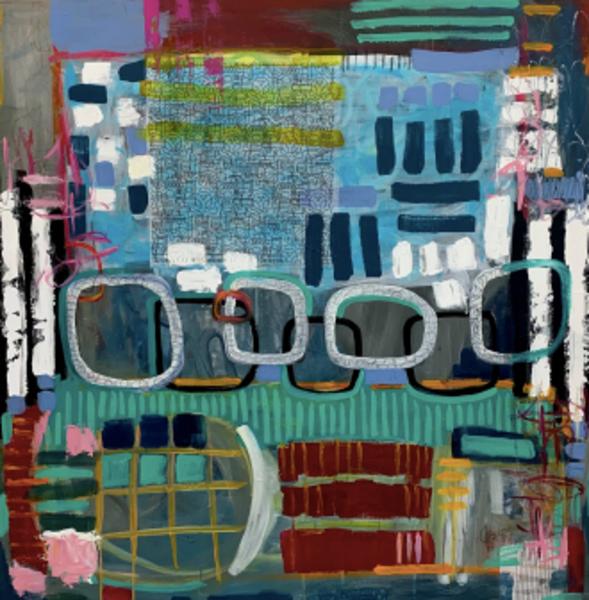 Here I Come Ii ($2850, Original Painting) Art | Jennifer Ferris