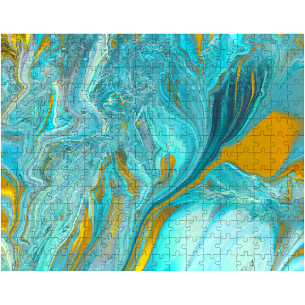 Copper Turquoise Puzzle | KD Neeley, Artist