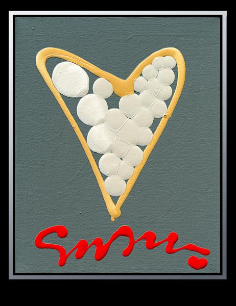 "Simon Bull Available Original Painting - ""Golfer"""