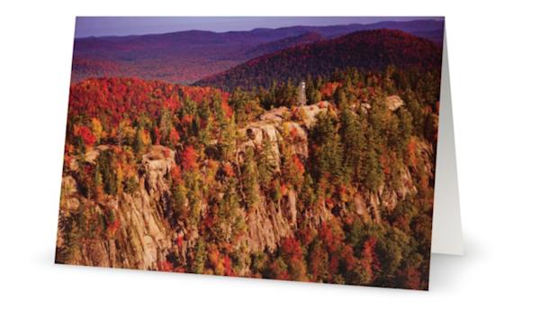 Bald Mt Fall Aerial Card | Kurt Gardner Photogarphy Gallery