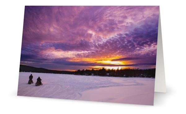 4th Lake Snowmobiles Cards | Kurt Gardner Photogarphy Gallery