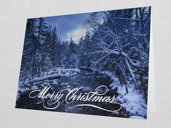 Big Moose Outlet Merry Christmas Card   Kurt Gardner Photogarphy Gallery
