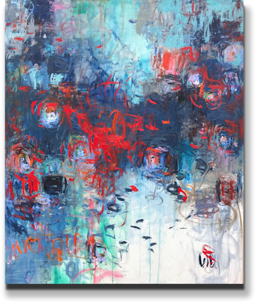 """Amy Donaldson Available Original Painting - """"Fearless Creation"""""""