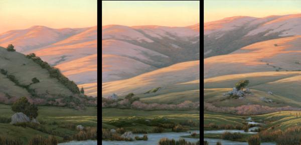 West County Triptych  Art | Terry Sauve Fine Art