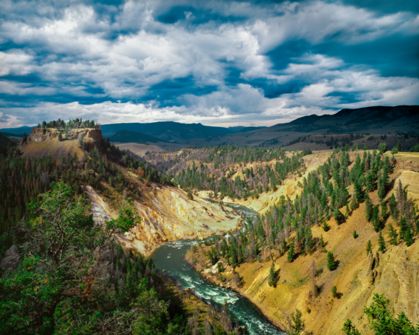 Yellowstone River Photography Art | Robert Vielee Photography