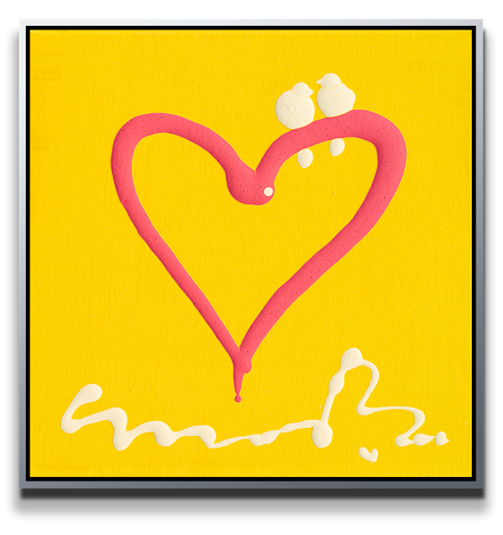 "Simon Bull Available Original Painting - ""Surprise"""