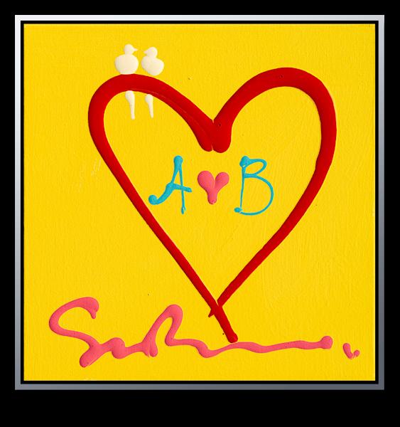 "Simon Bull Available Original Painting - ""A+B"""