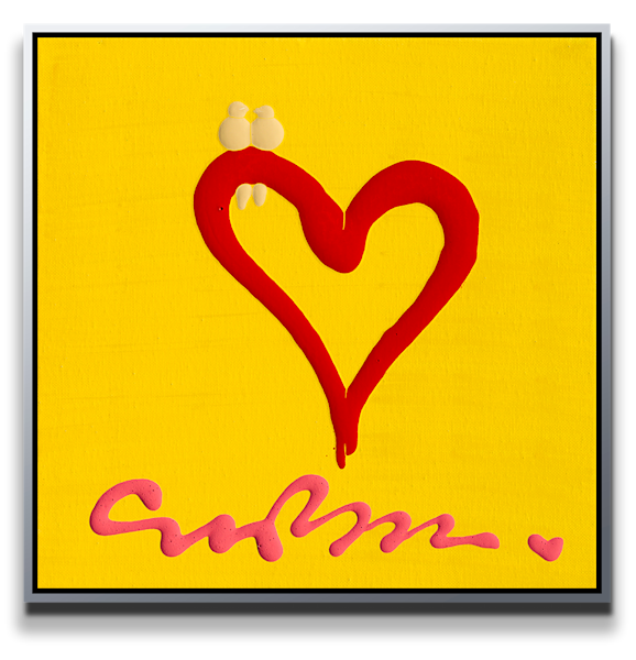 "Simon Bull Available Original Painting - ""One Heart"""