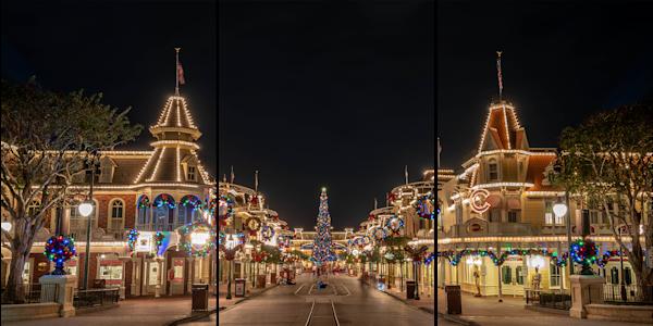 Walking In A Winter Wonderland   Disney Acrylic Art Photography Art | William Drew Photography