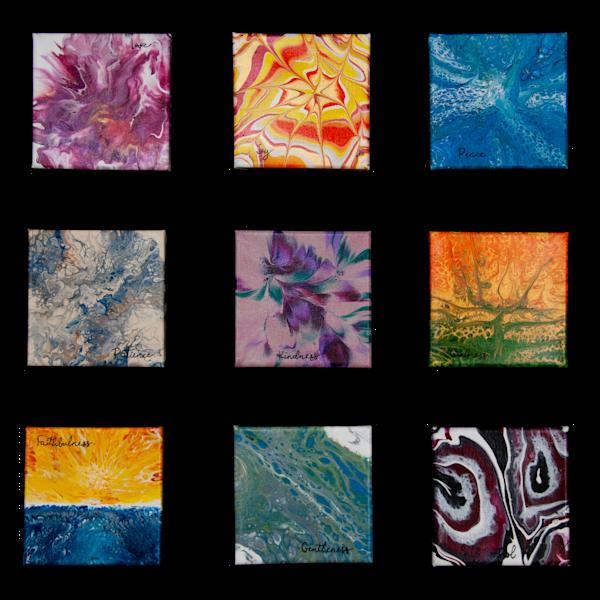 Fruit Of The Spirit Prints   Set Of 9 Art | Black Mountain Gallery