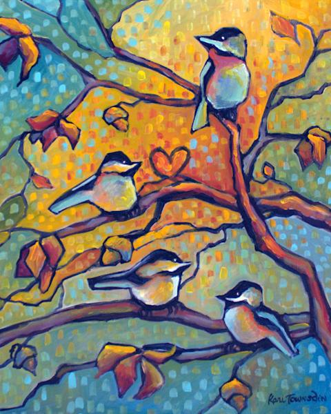 Four In The Morning Art | Kari Townsdin