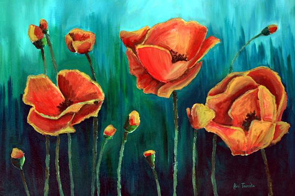 Poppies Art | Kari Townsdin
