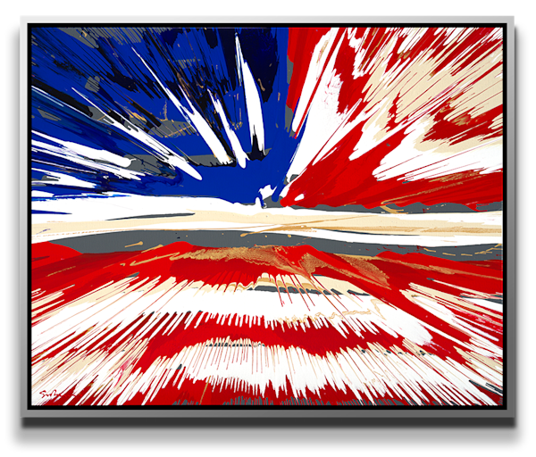 "Simon Bull Available Original Painting - ""Gallantly Streaming"""