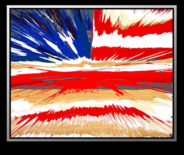 "Simon Bull Available Original Painting - ""Yet Waving"""