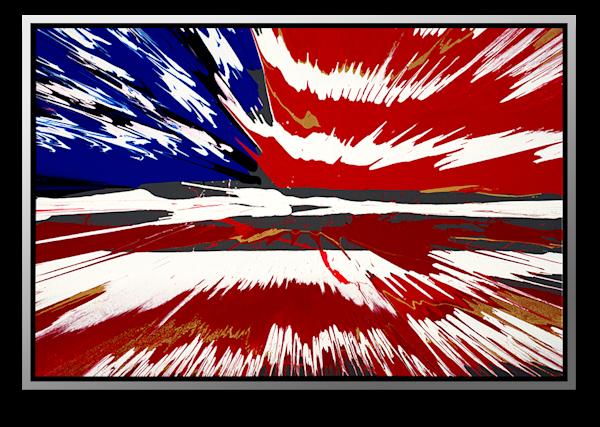 "Simon Bull Available Original Painting - ""Long May It Wave"""