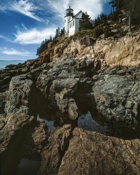 Bass Harbor Head Light Photography Art   Robert Vielee Photography