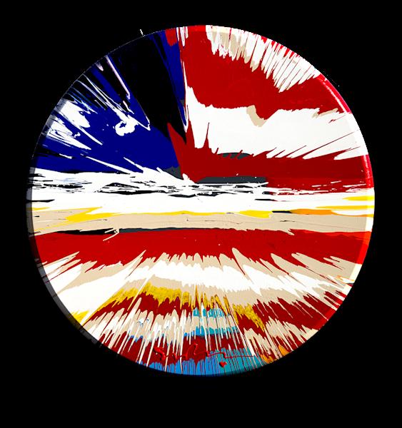 "Simon Bull Available Original Painting - ""Kaleidoscope"""