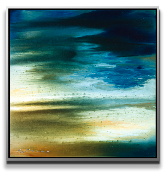 "Simon Bull Available Original Painting - "" Atmospherics"""