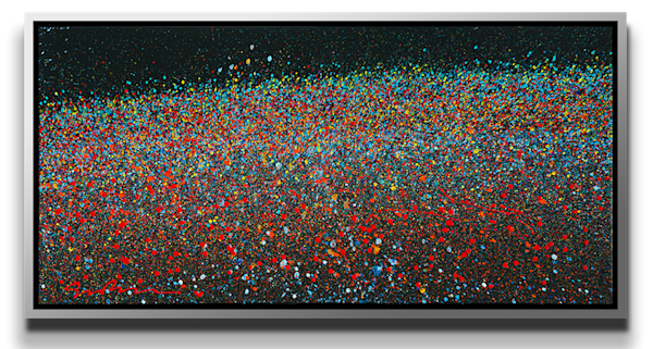 "Simon Bull Available Original Painting - ""Monet"""