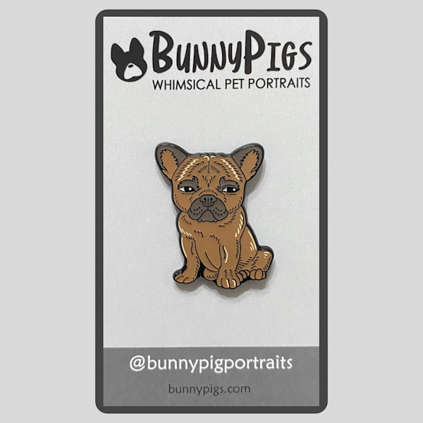 Coco The Frenchie Pin | BunnyPigs