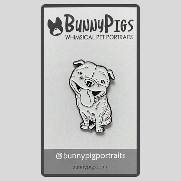 Sketch Pin: Beaming Bully | BunnyPigs