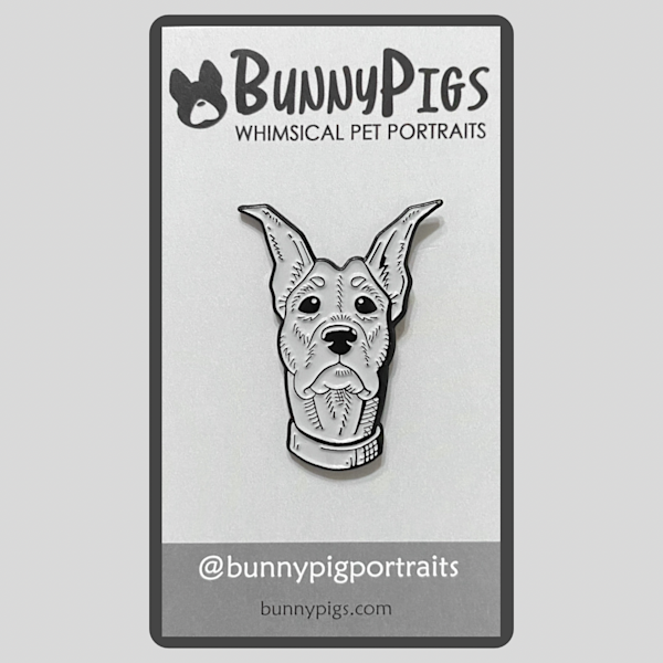Sketch Pin: Doberman | BunnyPigs