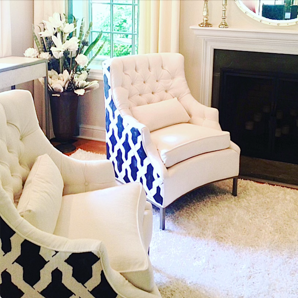 Gelsey Chair | Onyx + Ivory
