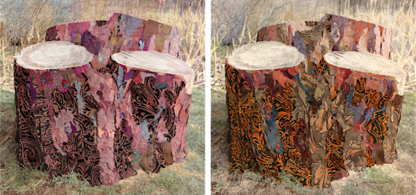 You Got Me Stumped (Multipanel) Art | Meryl Cohen Art