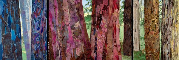 Sacred Forest Ii (Multipanel) Art | Meryl Cohen Art
