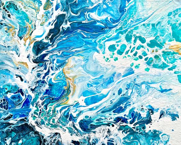 I Danced With The Wave Art | Deborah Younglao Art