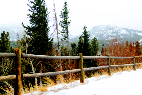 Snow At Glacier Gorge Photography Art   Silver Spirit Photography