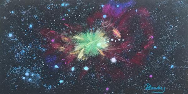 Fireworks In The Heavens (Original) Art | Mary Planding Fine Art