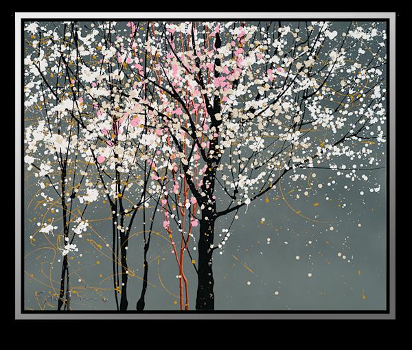 "Simon Bull Available Original Painting - ""Blossom Time"""
