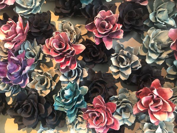 Mixed Bed Ombre 2 Detail 1 Art | Lauren Naomi Fine Art