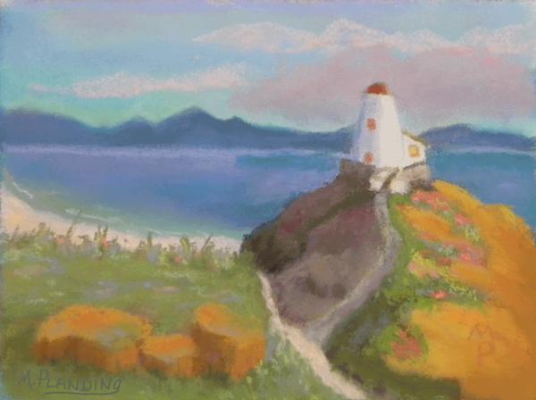 Lighthouse Way | Original Art by Mary Planding