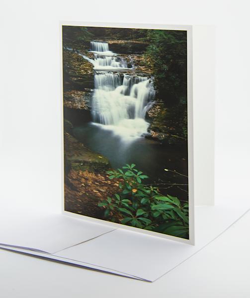 Dingmans Falls   Note Card | Robert Vielee Photography